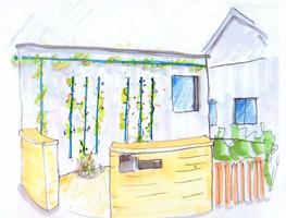 Entwurf Gartenplanung