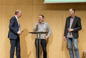 """""""Nachhaltig fit für morgen"""", Veranstaltung zur Auszeichnung der gemeinwohl-orientierten Stuttgarter AvantgardeUnternehmen  (Fotograf: Stadt Stuttgart / Jan Potente)"""